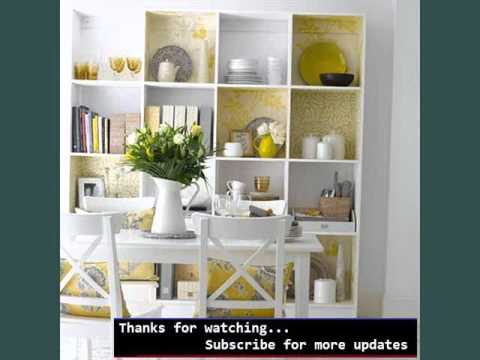 Wall Storage Shelves Ideas Open Shelving Small Kitchen YouTube