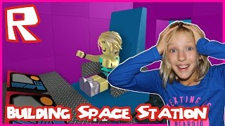 Building a Space Station in Roblox