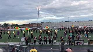 The greatest showman JHS marching band