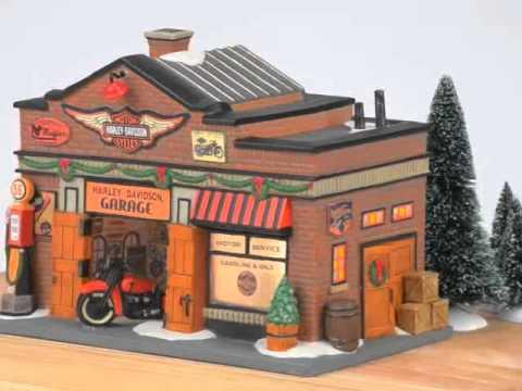 Harley-Davidson® Garage 4035565 Department 56 Christmas In The ...