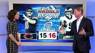 Waddle's World: Chicago Bears lose to Philadelphia Eagles, 16-15, ending season