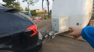 拖挂房车的生活是怎么样的,体会房车加水,刷碗,倒车停车