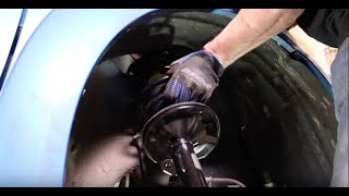 How to Replace Shocks and Struts in a Pontiac Vibe or Toyota Matrix – 2002-2008