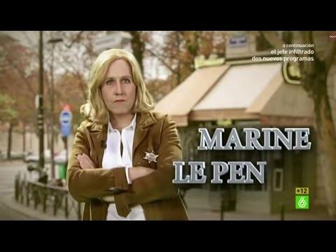 """Joaquín Reyes I Marine Le Pen: """"Soy Le Pen, en español 'el pene'. Vamos que soy la polla"""""""