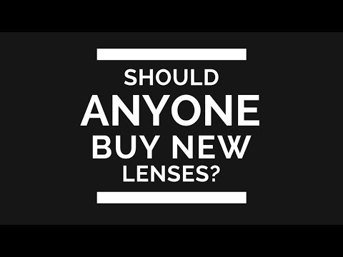 Should ANYONE Buy NEW Canon Lenses or Nikon Lenses Right Now?
