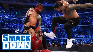 The Usos vs. The Street Profits – SmackDown Tag Team Title Match: SmackDown, Sept. 10, 2021