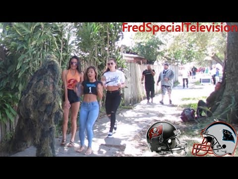 BUSHMAN PRANK AT TAMPA BAY BUCCANEERS VS ...