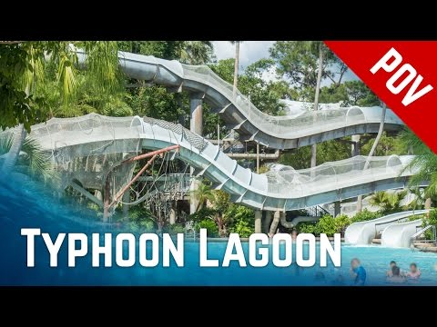 ALL RIDES at Disney's Typhoon Lagoon Water Park, Orlando Florida