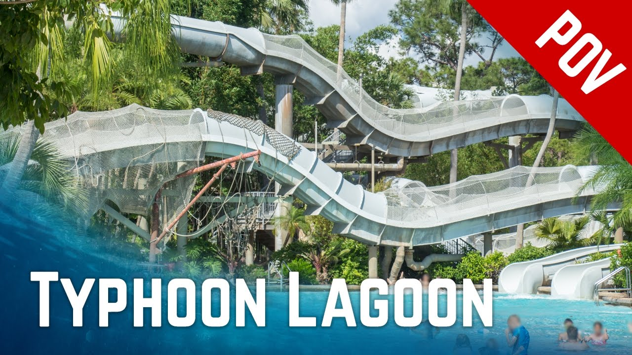 ALL RIDES at Disney\u0027s Typhoon Lagoon Water Park, Orlando Florida ...