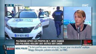 """Propos anti-flics sur C8: """"Nous demandons à Gérard Collomb de porter plainte contre Yann Moix"""""""