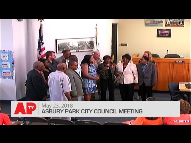 Asbury Park City Council Meeting - May 23, 2018