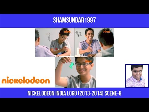 Nickelodeon India Logo (2013-2014) Scene-9