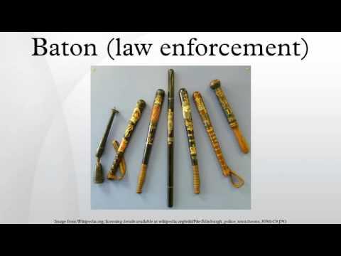 Baton (law enforcement)