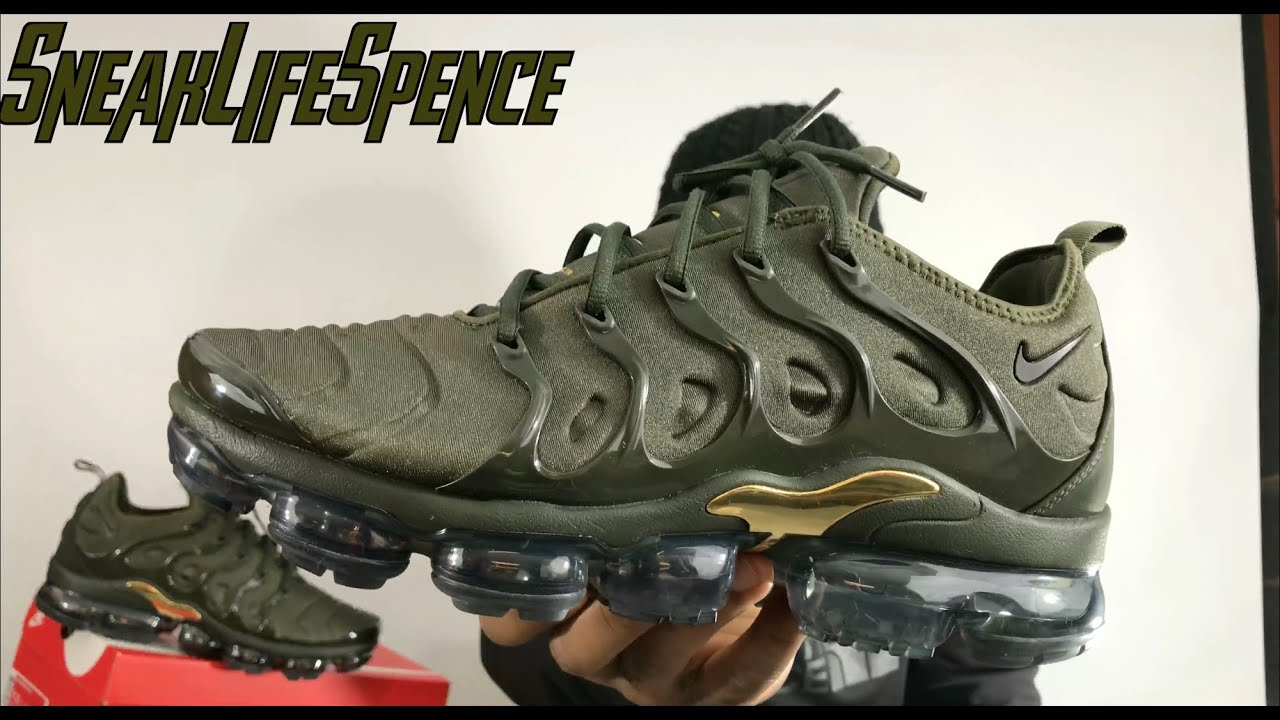 b2980b11a1 Vapormax Plus review and unboxing Khaki green - YouTube