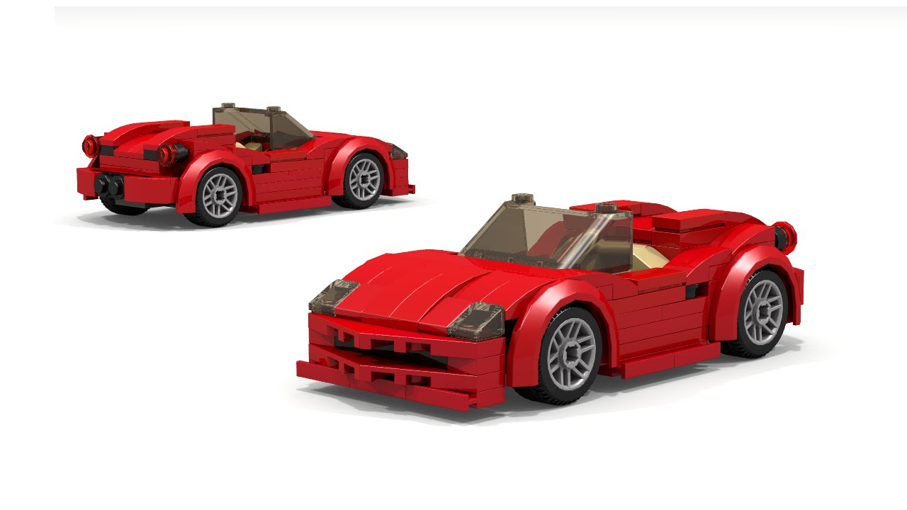 lego ferrari spider instructions youtube. Black Bedroom Furniture Sets. Home Design Ideas