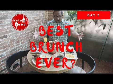 Day 2 Part 1: Best Brunch in Cebu??? | Soho Park