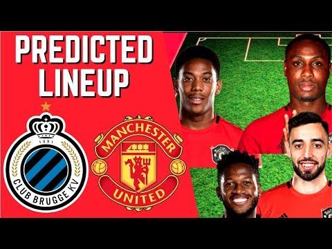 Man Utd v Club Brugge prediction, live stream & confirmed line-ups ...