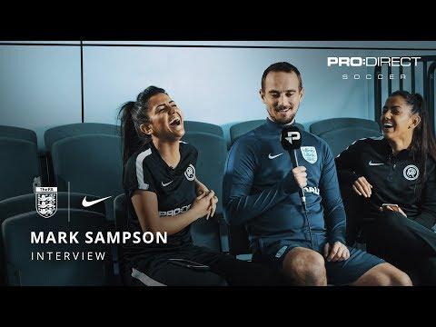 England Women's Team Euro 2017: Mark Sampson Interview