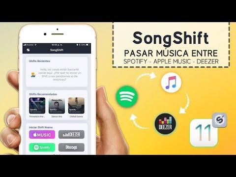 Pasar Musica de Spotify a Apple Music en iOS
