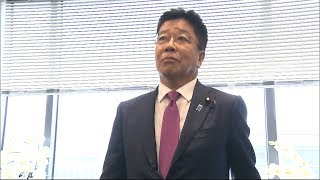 内閣改造 岡山5区選出の加藤勝信氏が厚生労働大臣として再入閣
