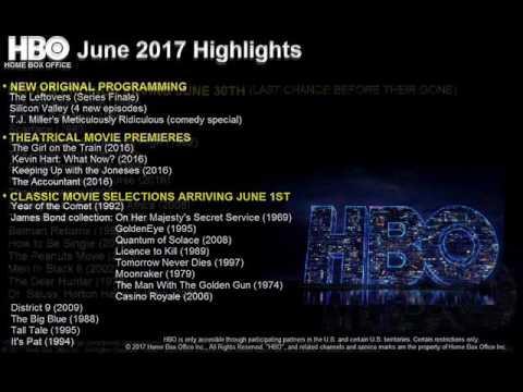 Download HBO June 2017 Highlights