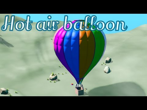 Hot air balloon - kids video clip - Didadutv
