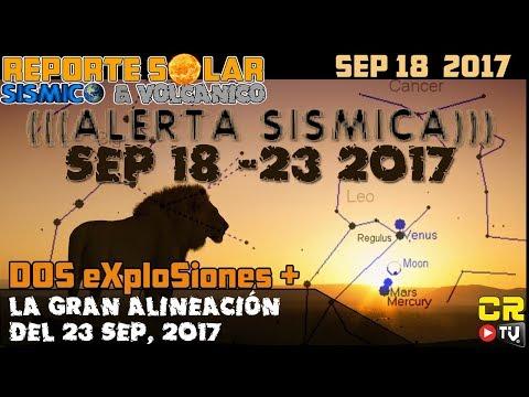 (((ALERTA SISMICA))) DoS eXplosiones REPORTE SOLAR SISMICO Y VOLCANICO CON ALEX BACKMAN