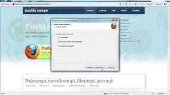 Näin asennetaan Mozilla Firefox