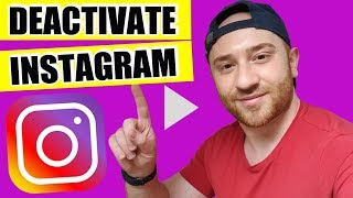 ✅ HOW TO DEACTIVATE INSTAGRAM ACCOUNT TEMPORARILY and get it back (2019) 🔥 DISABLE INSTAGRAM