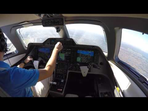 Phenom 100 Takeoff and Landing