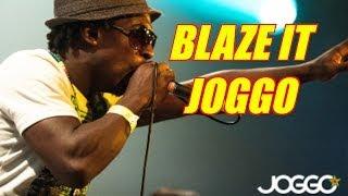 Reggae 2014 - Joggo - Blaze it - (Lyric video)