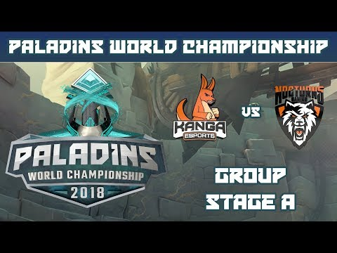 Paladins World Championship 2018: Group Stage A - Kanga Esports vs. Nocturns Gaming