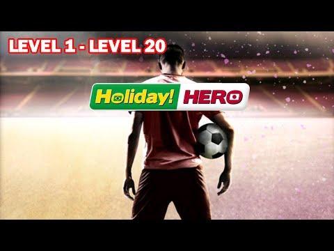 SCORE HERO ( HOLIDAY HERO UPDATE ) GAMEPLAY WALKTHROUGH - Level 1 - Level 20
