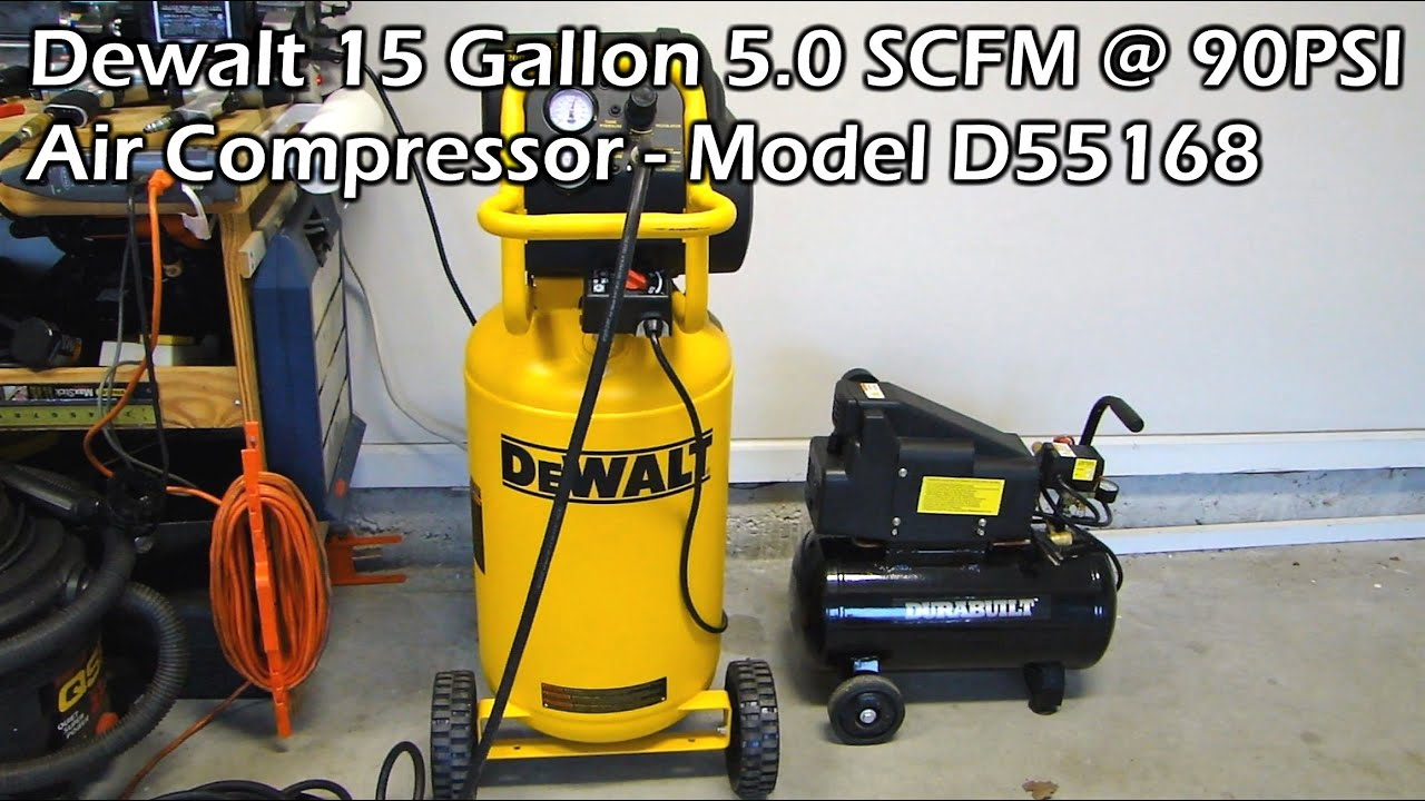 Dewalt D55168 Air Compressor For The Garage Part 1 Youtube