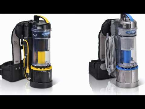 Battery Powered Backpack Vacuum