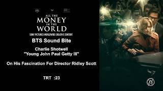 All The Money In The World Interview Charlie Shotwell Young John Paul Getty III 1