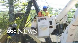 Hundreds of thousands still without power after major storms