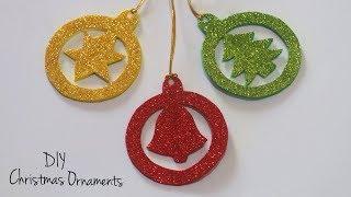 DIY Christmas Ornaments | Christmas Tree Decorations | Holiday Craft Ideas