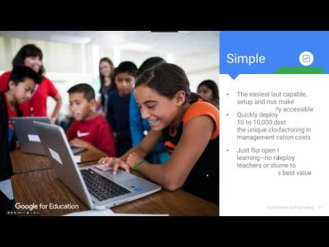 Chromebooks for Education Overview