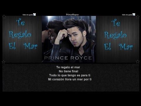 Prince Royce - Te regalo el mar Lyrics | Musixmatch
