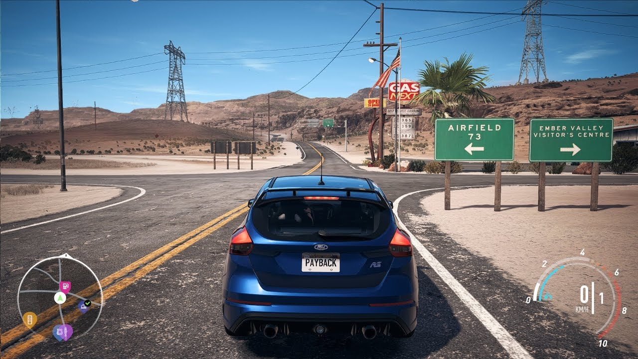 need for speed payback ford focus rs open world free roam gameplay pc hd 1080p60fps. Black Bedroom Furniture Sets. Home Design Ideas