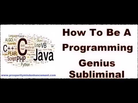 Become A Programming Genius - Subliminal Coding Skills Recording