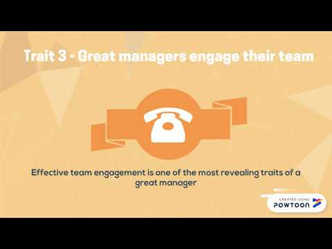5 Traits Of Great Managers