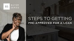 How do you get a pre-approval letter from a lender?