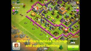 Clash of Clans Attacking and Farming Strategy-05 how to assemble a professional steal team!