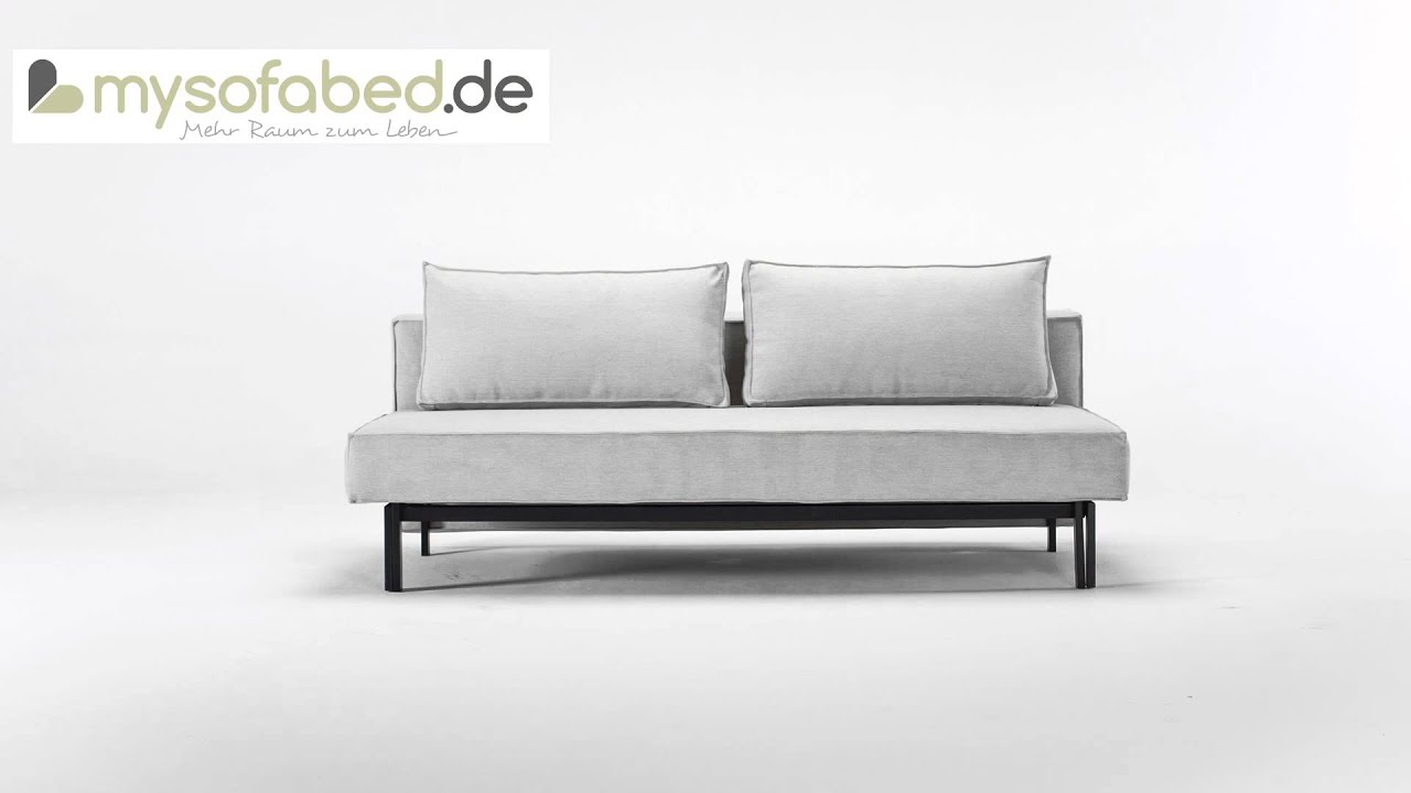 Bettsofa 140 X 200 Sly Von Innovation Schlafsofa Bettsofa Mixed Dance Natural 527
