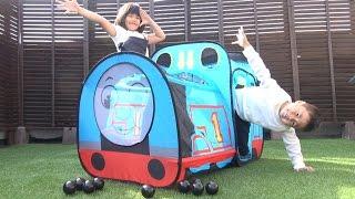 トーマス おもちゃ トーマスのなりきりテント 出発進行!! Thomas And Friendstoy ボールプール テントハウス Tent House Giant Ball Pits toy thumbnail