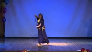 Саиди (танец с тростью), Ирина Анциферова