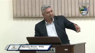 36ª Sessão Ordinária de 2019 - Vereador Marcão Alves