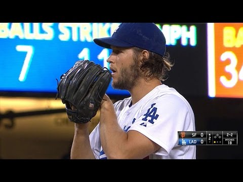 SF@LAD: Kershaw leads Dodgers to division title